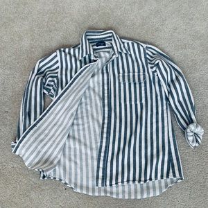 Striped Brandy Melville flannel.